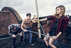 Cara Delevingne, Claude Simonon and Paolo Anchisi starring in our 2014 Autumn Winter Campaign