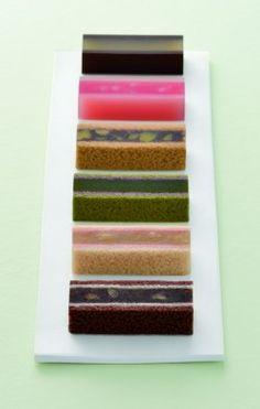 """両口屋是清 """"ささらがた"""" Japanese sweets by Ryoguchiya Korekiyo"""