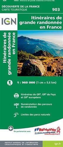 carte ign france gratuit FREE DOWNLOAD 903 FRANCE GRANDES RANDONNEES *