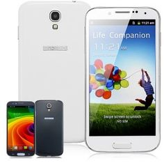 """S4 5.0"""" Android 4.2 Single Core SC6820 1.0GHz Smartphone with Wi-Fi, Bluetooth, Dual Camera, Capacitive Touch Screen"""