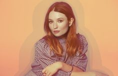"""Emily Browning talks """"American Gods,"""" roles for women, and fantasy films. Emily Browning, American Gods, Valley Of The Dolls, Female Characters, Cool Girl, Hair Beauty, Ruffle Blouse, Victoria, Actresses"""