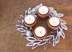 Advent Wreath Candles, Christmas Advent Wreath, Christmas Mood, Christmas Candles, Xmas Ornaments, Christmas Decorations, Advent Wreaths, Reindeer Christmas, Nordic Christmas