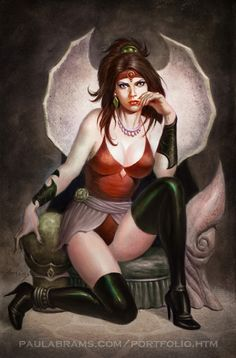 Persephone in the Underworld by PaulAbrams on DeviantArt