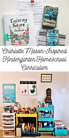 2018-2019 Charlotte Mason-Inspired Kindergarten Homeschool Curriculum - Love, Joleen