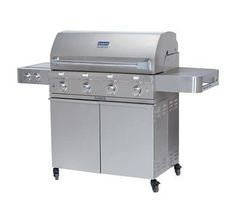 SABER SS 670 Premium Stainless Steel 4 Burner Gas Grill