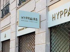 Enseignes <br> pour Hyppairs ( Lyon) Explore, Lyon, Applique Letters, Flag, Exploring