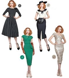 Vintage Silhouettes for Modern Days | Vintage Fashion London