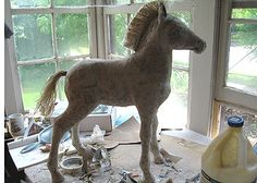 Paper Mache Horse, Day 12   Ultimate Paper Mache