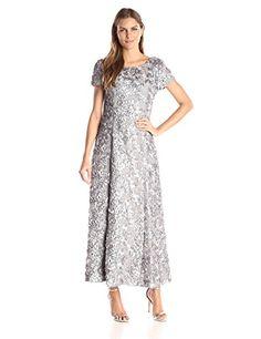 Alex Evenings Women's Long A-Line Rosette Dress with Shor... http://www.amazon.com/dp/B01B5SLCZW/ref=cm_sw_r_pi_dp_-a5fxb0YQ2BYX