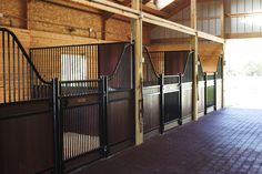 stalls--love for future horses but the cob webs will love the bars :( .. but ill have a stable man so thats ok he'll clean them :)