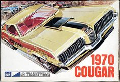 MPC 1970 Cougar Box Art.