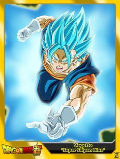 (Dragon Ball Super) Vegetto 'Super Saiyan Blue' by el-maky-z.deviantart.com on @DeviantArt
