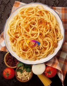 Bucatini con acciughe e uvette  #CucinareMeglio #ricette #ricettesiciliane