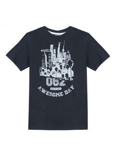 Camiseta Azul Marino B-Karo