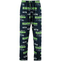 NFL Seattle Seahawks Men's Pants Pajamas Lounge Pants FUSION #ConceptsSport #SeattleSeahawks