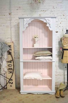 Painted Cottage Handmade Farmhouse Bookcase / China Cabinet BC34