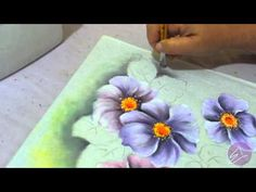▶ Eliane Nascimento: Minhas dicas de pintura - Pintando o fundo - YouTube