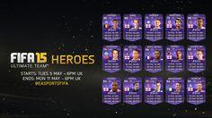 NEW FIFA 15 HERO CARDS