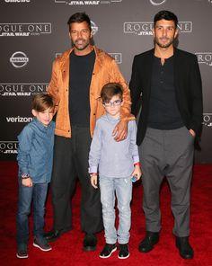 Tiernas imágenes de Jwan Josef con los hijos de Ricky Martin