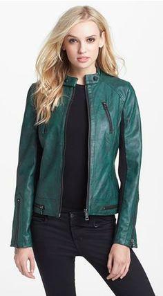 Sam Edelman faux leather jacket, nordstroms.com