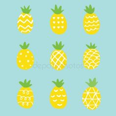 Pineapple Pictures, Pineapple Art, Pineapple Illustration, Paint Party, Pattern Art, Diy Art, About Me Blog, Spring Fruits, Drawings