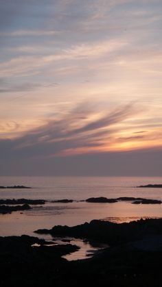 sunset at port mhor, isle of colonsay, scotland [PHOTO BY ERIN ALLENBY]