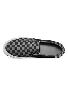 Check mate, brother!  Shop for this Slip On Canvas Shoe - Black Checks right here: http://blotchwear.com/collections/casual-shoes