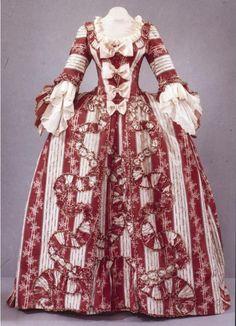 история костюма 1770г