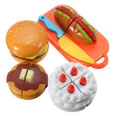 Barato Novos de plástico crianças bolo Qieqie Slice e ver brinquedos de cozinha fingir casa de jogo do bebê clássico Artificial Jouet, Compro Qualidade Cozinhas de brinquedo diretamente de fornecedores da China:              Descrição                       :                                                          Cor