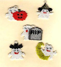 Gertie Ghostie's Gleeful Gang of Ghouls   Bead-Patterns
