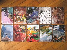 Calepins - Notebooks - Collages