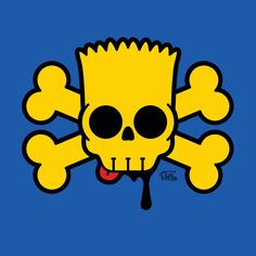 BART SIMPSKULL T-Shirt | $10 Bart Simpson tee from ShirtPunch today only!