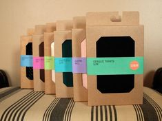 sock packaging | New tight packaging for urban outfitters! Simplifying the look; brown ...