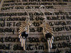 Supernatural Angel Inspired Earrings di FollowTheGrace su Etsy