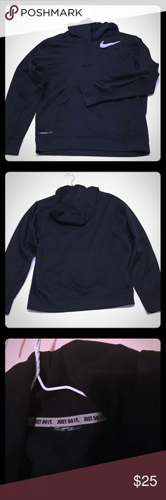CLEARANCE Nike Unisex Hoodie Final price!!! This hoodie has the tag cut off on the inside but u can tell it's authentic by the piping inside of the jacket and the good quality stitching. It's unisex and it fits great! Hope this jacket finds a good home! Nike Jackets & Coats Performance Jackets