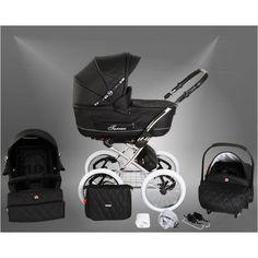 Artikelbild 2533 - Classic One Plus Kinderwagen + Autositz 06 Eco Black
