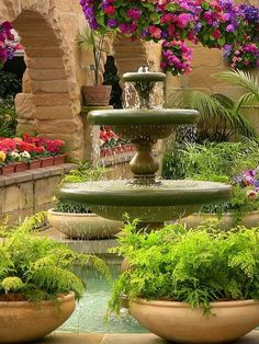 Royal Botanical Gardens in Hobart, Tasmania, Australia (by Tony Steinberg). Formal Gardens, Outdoor Gardens, Courtyard Gardens, Outdoor Landscaping, Landscaping Ideas, Palaces, Beautiful Gardens, Beautiful Flowers, Famous Gardens