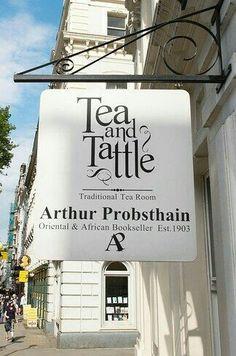 Tea and Tattle ~ London