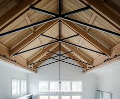 California Modern Farmhouse Renovation – Home Bunch Interior Design Ideas California Modern Farmhouse Renovation – Home Bunch Interior Design Ideas Image Size: 660 x Exposed Trusses, Steel Trusses, Roof Trusses, Exposed Ceilings, Green Woodworking, Woodworking Projects That Sell, Japanese Woodworking, Router Woodworking, Fine Woodworking