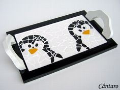 penguin tray