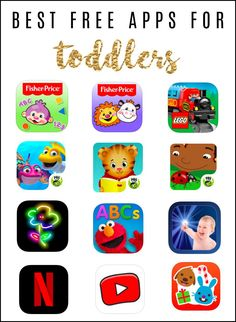 Best Free Apps for Toddlers – Mar Ward / To & Fro Best Free Apps for Toddlers Best Free Apps for Toddlers Best Toddler Apps, Best Baby Apps, Best Free Apps, Toddler Stuff, Educational Apps For Toddlers, Educational Apps For Kids, Best Apps For Preschoolers, Toddler Learning, Toddler Activities