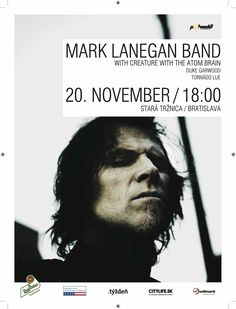 Mark Lanegan, 20.11.2012 Bratislava Mark Lanegan, Bratislava, Creatures, Events, Fictional Characters, Fantasy Characters