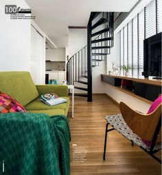 There's something luxurious about living in a loft in Singapore. The high ceiling, the unique layout within an apartment and the lifestyle associated with loft-living captivate us. Here are three loft apartments that we wish were ours to retreat to: Interior Design Website, Bedroom Windows, New Homeowner, Bay Window, New Homes, Loft, Furniture, Console, Ceiling