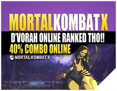 Mortal Kombat X Online D Vorah Swarm Queen Funny Moments   Bo Rai Cho Gameplay. Jason Vorhees had to catch these hands though lol. Mortal Kombat X is a fight...