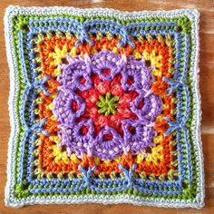 Lucky Thirteen Granny Square Pattern