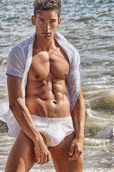 Paul Alex Molnar Sexy on A Beach by Ray John Pila