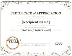 Sample of appreciation certificate appreciation certificate of appreciation microsoft word projects to try pinterest sampleresume microsoftwordcertificatetemplate cover letterscover yadclub Choice Image