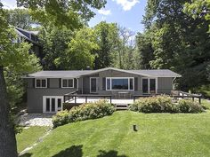 Comfortable Lake Geneva Lakefront home listed by @bobwebster - Over 1 acre of lakefront property, 3 bdrm, 2 bath, 2.5 car garage!  $1,999,900 Click the photo for a virtual tour from Bob!