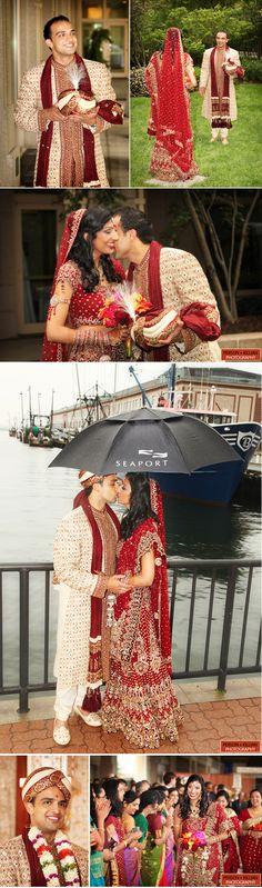 The happy couple: Anita and Rishi {Person + Killian Photography}