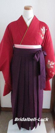卒業式袴の出張着付け・髪飾り